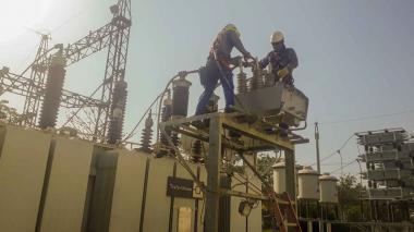 Servicio de energía en Montería se ha restablecido en un 90 por ciento