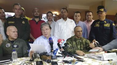 Ministro de Defensa anuncia el anuncio de aumento en la seguridad de La Guajira.