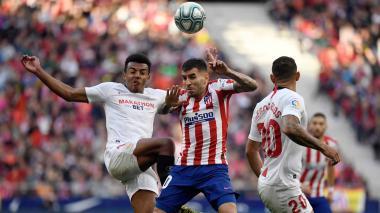 Atlético de Madrid empata 2-2 con Sevilla y sigue fuera de zona Champions