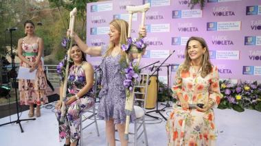 Con 'Tarde Violeta' rinden homenaje a mujeres en Usiacurí