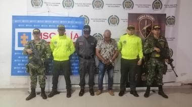 Excabecilla de las AUC cae en Montería sindicado de pertenecer al 'Clan del Golfo'