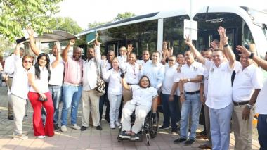 Transcaribe reactiva la ruta C015 con destino a la Gobernación