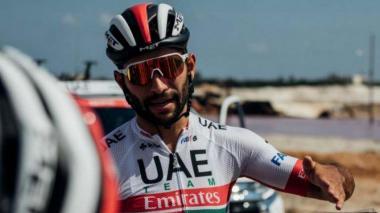 """""""Todo va a salir bien"""", dice el ciclista colombiano Fernando Gaviria"""