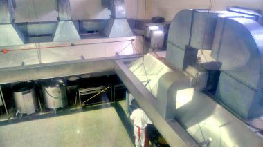 Planta de producción de una empresa en Barranquilla que produce alimentos.