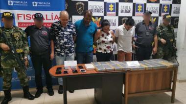 Decomisan 23 paquetes con cocaína en una tienda naturista de Montería