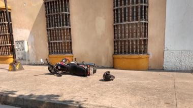 En video   Mototaxistas protestan por medidas de prevención del coronavirus en Cartagena