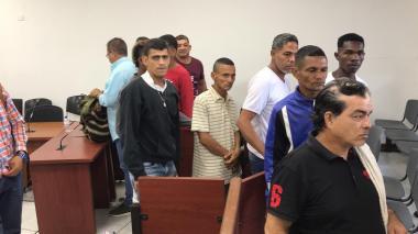 En video | Juez deja en libertad a cinco de 'Los Intocables'