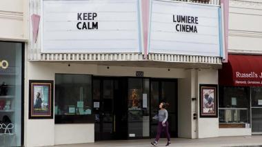Taquilla de cines no registra ningún dato por primera vez debido al coronavirus