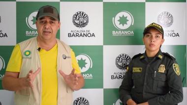 El alcalde de Baranoa, Roberto Celedón, anunció una serie de medidas.