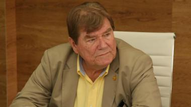 Helmut Bellingrodt, extirador y dirigente deportivo barranquillero de 70 años.