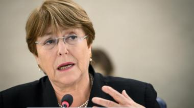 Bachelet pide relajar sanciones a países como Venezuela por crisis sanitaria