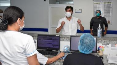 En video   Camino Adela de Char está listo para atender casos de coronavirus: alcalde Pumarejo
