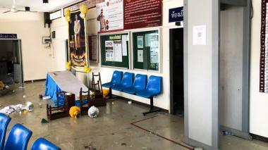 Motín en cárcel de Tailandia por temor a COVID-19