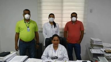 """"""" Hemos suministrado elementos de protección para atender a pacientes afectados por Covid-19"""""""