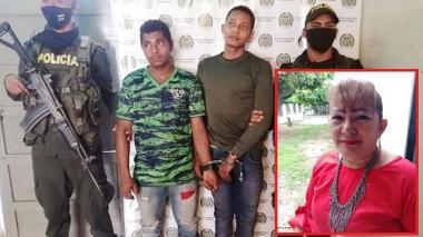 Levis y Benito Galindo Martínez, de 23 y 19 años, fueron enviados a la cárcel por el homicidio de Luz Díaz.