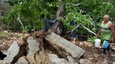 Emergencia en Campeche, Atlántico, por fuerte aguacero