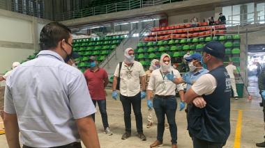 Contraloría Distrital supervisa la calidad y cantidad de mercados en Barranquilla