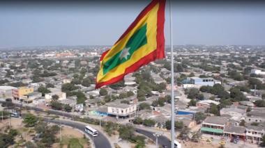 En video | Con música, el Sena celebra los 207 años de Barranquilla