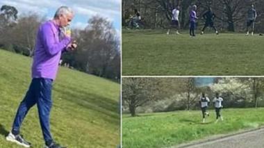 Mourinho admite que rompió las leyes de distanciamiento social
