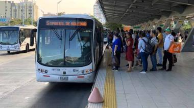 Transmetro tendrá operación especial desde el jueves hasta el domingo santo