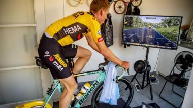 Ciclismo virtual en tiempos de confinamiento