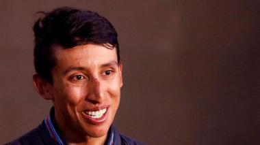 El colombiano Egan bernal, actual campeón del Tour de Francia.