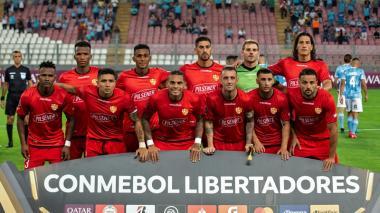 Onceno del Barcelona de Ecuador que participa en la Copa Libertadores de América 2020.