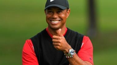 El estadounidense Tiger Woods continúa preparándose para la reanudación de las competencias golfísticas.