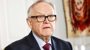 El Nobel de la Paz finlandés Martti Ahtisaari supera el coronavirus