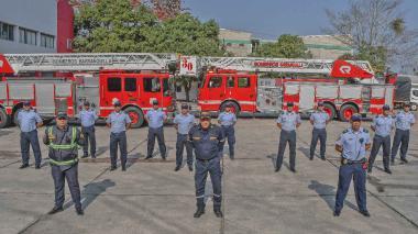 Cuerpo de Bomberos de Barranquilla.
