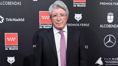 Enrique Cerezo, presidente del Atlético de Madrid.