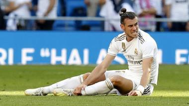 El galés Gareth Bale, del Real Madrid, es un jugador intermitente en cuanto a lesiones.