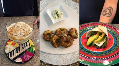 Tres 'snacks' saludables para preparar en casa