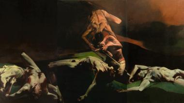 Anatomía con pincel: la obra de Luis Caballero