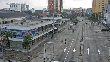 Calles de Barranquilla durante Aislamiento Preventivo Ogligatorio.