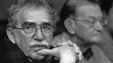 Gabriel García Márquez y José Salgar Monterrey en 2003.