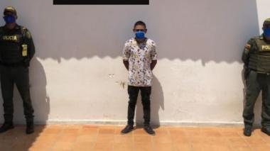 Lo capturan en flagrancia cuando golpeaba a su pareja en Mompox