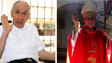 Monseñor Héctor Salah y Monseñor Francisco Ceballos.