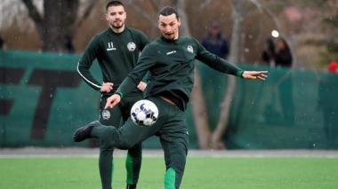 Ibrahimovic jugará un torneo interno de entrenamiento con el Hammarby sueco