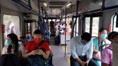 Transmetro reactiva rutas desde el lunes 27 de abril