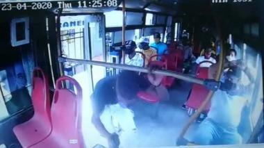 En video | Alerta por el incremento de atracos en buses