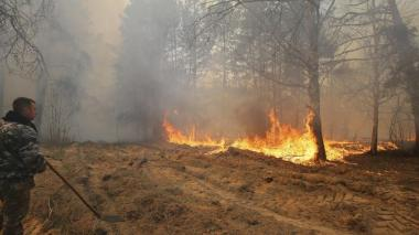 Se cumplen 34 años de tragedia de Chernóbil en medio de incendios forestales