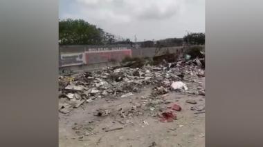 En video | Denuncian contaminación por basurero en arroyo de Soledad