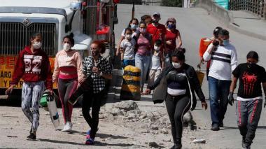 Bachelet alerta de la vulnerabilidad de los migrantes en Latinoamérica ante la pandemia