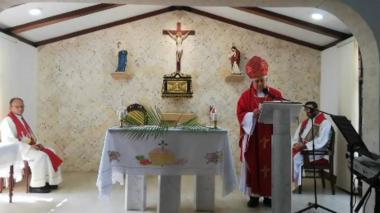 "Iglesia católica de Santa Marta pide a fieles ""paciencia"" ante manifestaciones de abrir templos"