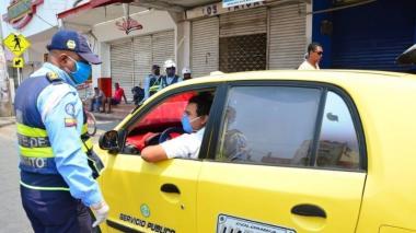 Este es el Pico y placa de taxis en mayo para Cartagena