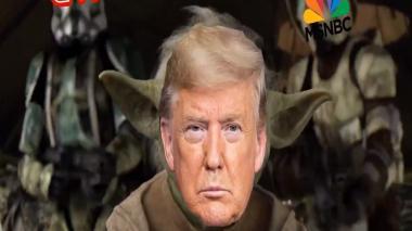 Campaña de Trump publica controversial video con montaje de 'Star Wars'