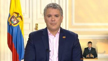 """""""Es inadmisible que ese tipo de prácticas hayan llegado al Palacio Presidencial"""": Duque"""