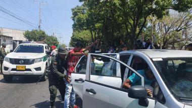 La Policía intensifica operativos para garantizar el aislamiento preventivo obligatorio en Valledupar.
