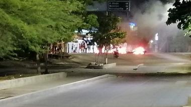 Disturbios en Ciénaga por apagones eléctricos